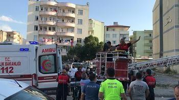 Iğdırda üzerine duvar yıkılan işçi yaralandı